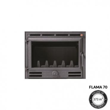 Lareira Flama 70 Detalhes